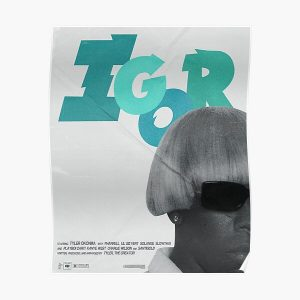 IGOR TYLER THE CREATOR MOVIE POSTER Poster RB0309 product Offical Tyler The Creator Merch