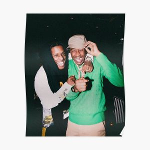 Smile Rocky And Tyler Memorial Poster RB0309 product Offical Tyler The Creator Merch