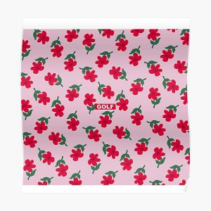 Flowers GOLF   Tyler The Creator Poster RB0309 product Offical Tyler The Creator Merch