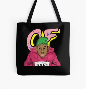 Tyler, The Creator golf  art gift  All Over Print Tote Bag RB0309 product Offical Tyler The Creator Merch