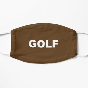 Golf Logo Brown Flat Mask RB0309 product Offical Tyler The Creator Merch